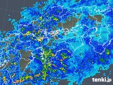 2018年05月02日の四国地方の雨雲の動き