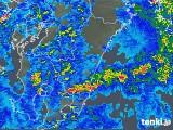 2018年05月02日の宮崎県の雨雲の動き