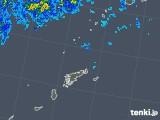 2018年05月02日の鹿児島県(奄美諸島)の雨雲の動き
