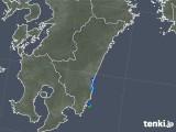 2018年05月05日の宮崎県の雨雲の動き