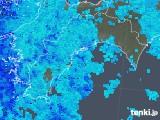 2018年05月06日の高知県の雨雲の動き