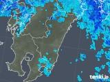 2018年05月06日の宮崎県の雨雲の動き
