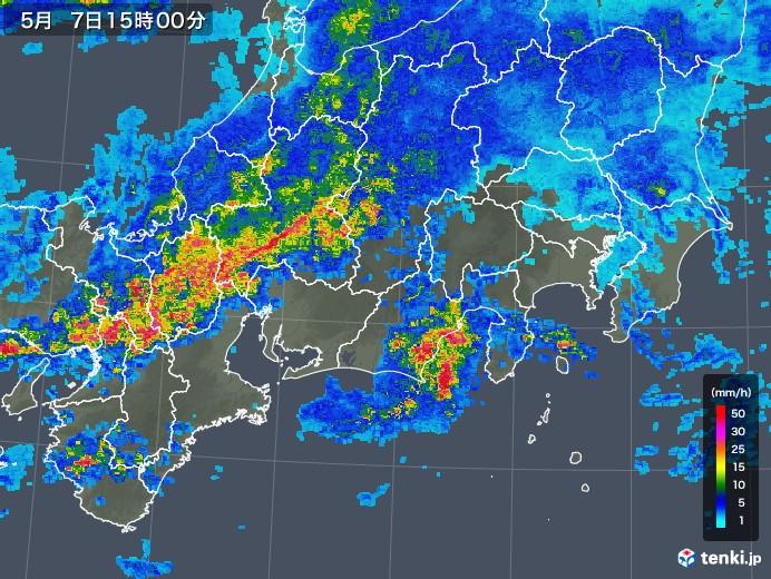名古屋 雨雲 レーダー