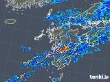 2018年05月07日の九州地方の雨雲の動き