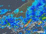 2018年05月07日の広島県の雨雲の動き