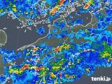 2018年05月07日の愛媛県の雨雲の動き