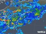 2018年05月07日の高知県の雨雲の動き