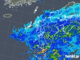 2018年05月08日の九州地方の雨雲の動き