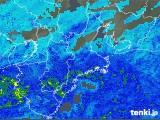2018年05月08日の三重県の雨雲の動き