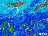 2018年05月08日の奈良県の雨雲の動き