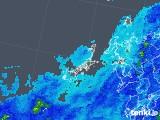 2018年05月08日の長崎県(五島列島)の雨雲の動き