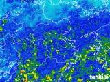 2018年05月08日の大分県の雨雲の動き