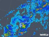 2018年05月08日の鹿児島県(奄美諸島)の雨雲の動き