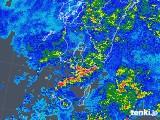 2018年05月08日の鹿児島県の雨雲の動き