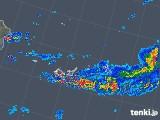 2018年05月08日の沖縄県(宮古・石垣・与那国)の雨雲の動き