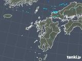 2018年05月09日の九州地方の雨雲の動き
