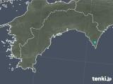 2018年05月09日の高知県の雨雲の動き