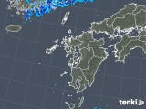 2018年05月12日の九州地方の雨雲の動き