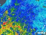 2018年05月13日の長野県の雨雲の動き