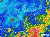 2018年05月13日の京都府の雨雲の動き