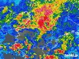 2018年05月13日の奈良県の雨雲の動き