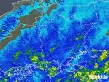 2018年05月13日の岡山県の雨雲の動き
