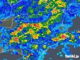 2018年05月13日の徳島県の雨雲の動き