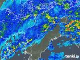 2018年05月13日の愛媛県の雨雲の動き