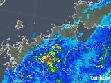 2018年05月13日の福岡県の雨雲の動き