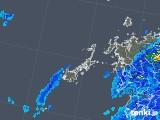 2018年05月13日の長崎県(五島列島)の雨雲の動き
