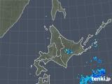 2018年05月14日の北海道地方の雨雲の動き