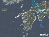 2018年05月14日の九州地方の雨雲の動き