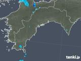 2018年05月14日の高知県の雨雲の動き