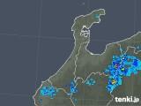 2018年05月17日の石川県の雨雲の動き