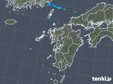 2018年05月19日の九州地方の雨雲の動き