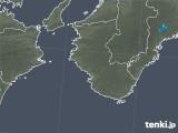 2018年05月19日の和歌山県の雨雲の動き