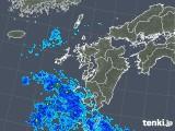 2018年05月20日の九州地方の雨雲の動き