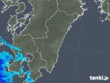 2018年05月20日の宮崎県の雨雲の動き