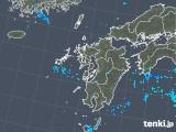 2018年05月21日の九州地方の雨雲の動き