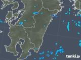 2018年05月21日の宮崎県の雨雲の動き