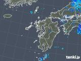 2018年05月23日の九州地方の雨雲の動き