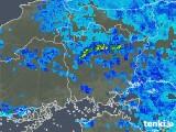2018年05月23日の岡山県の雨雲の動き