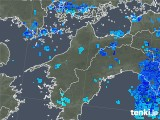 2018年05月23日の愛媛県の雨雲の動き