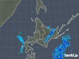 2018年05月24日の北海道地方の雨雲の動き