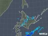 2018年05月25日の北海道地方の雨雲の動き