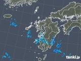 2018年05月25日の九州地方の雨雲の動き
