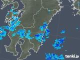 2018年05月25日の宮崎県の雨雲の動き