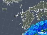 2018年05月26日の九州地方の雨雲の動き