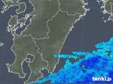 2018年05月26日の宮崎県の雨雲の動き