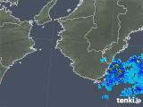 2018年05月27日の和歌山県の雨雲の動き